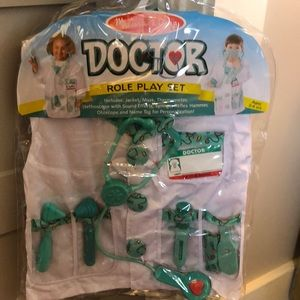 New Doctor Role Play Set Ages 3-6